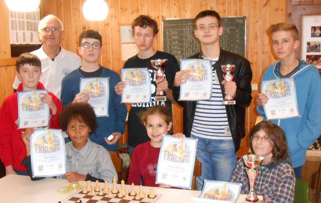 Steiner Stadtmeisterschaft 2014 Jugend