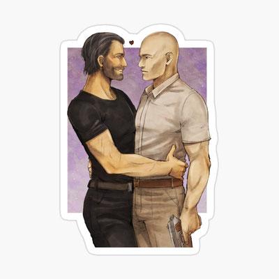 Hitman: Agent 47 & Lucas Grey