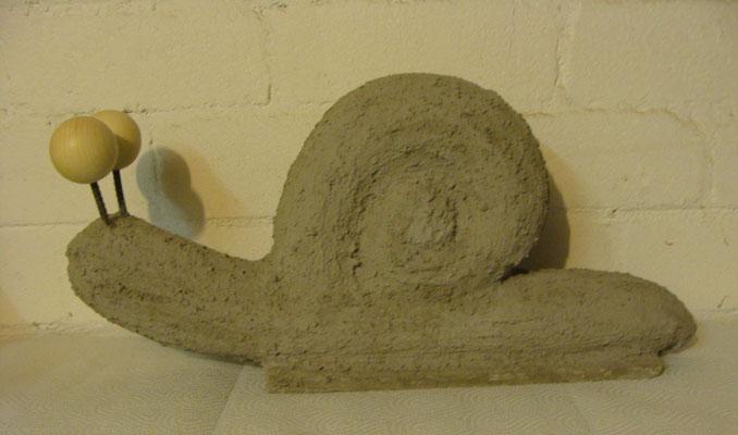 Zement-Schnecke klein