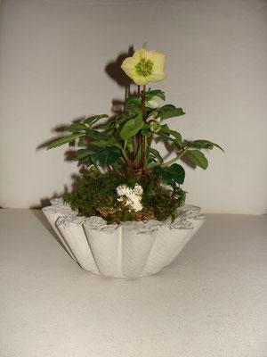 Zenent-Blumentopf