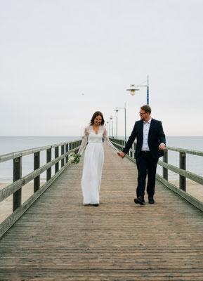 Hochzeit Seebrücke Bansin