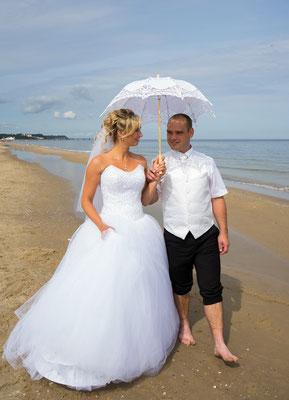 #Hochzeit am Strand