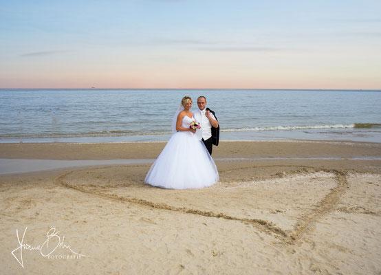 Hochzeit Strand Usedom