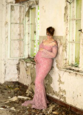 Babybauchshooting Ruine Usedom