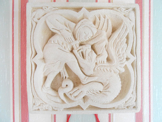 ©Sellen. St Michel (St Mihiel) terrassant le dragon.