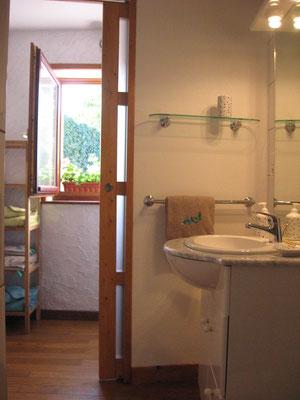 ©Sellen. Le linge de toilette est également prévu à La Paliole.