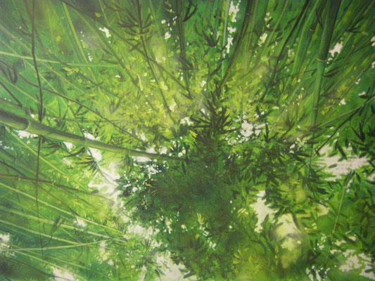 Prospektmalerei auf Nessel