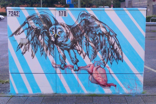 "Projekt ""Stromfarben"" in Flensburg"