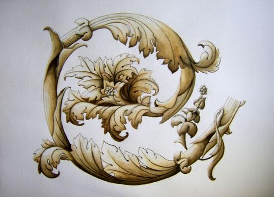 Aquarell 40 x 50 cm