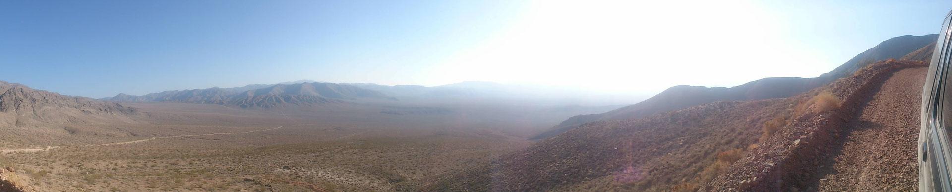 Die Piste durchs nördliche Death Valley