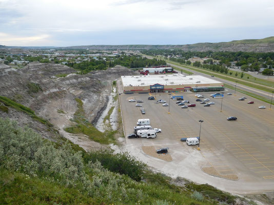 the odd night at walmart (here: Drumheller)