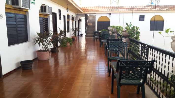 Unser Hotel in Merida