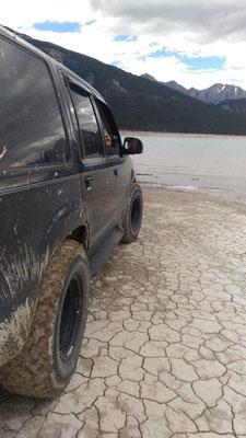 ... was a bit muddy