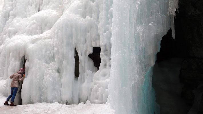Eisfall...