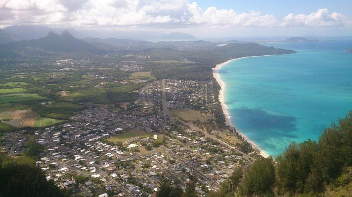 Hike 1: Sicht auf Waimanolo Bay