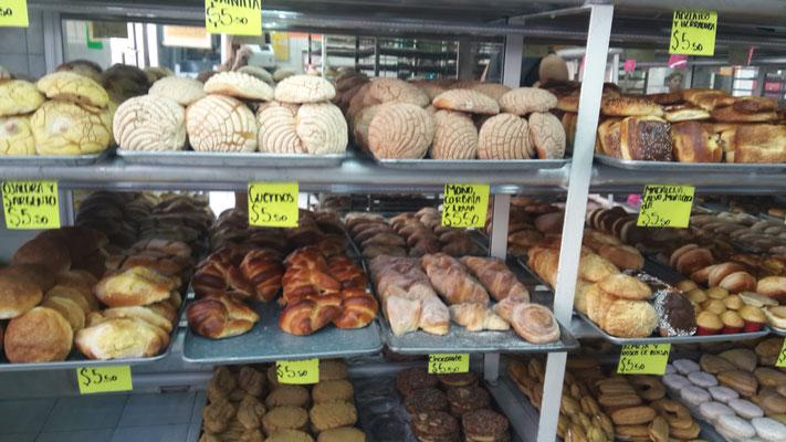 So siehts beim Bäcker in Mexiko aus