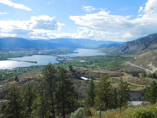 Osoyoos from above