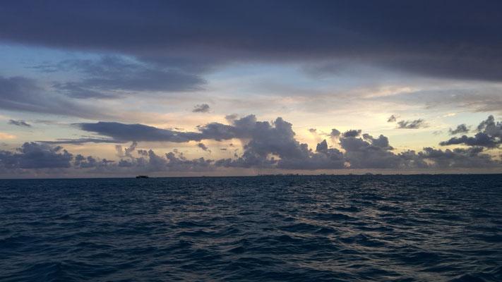 In Cancún stürmt es, hier nicht!