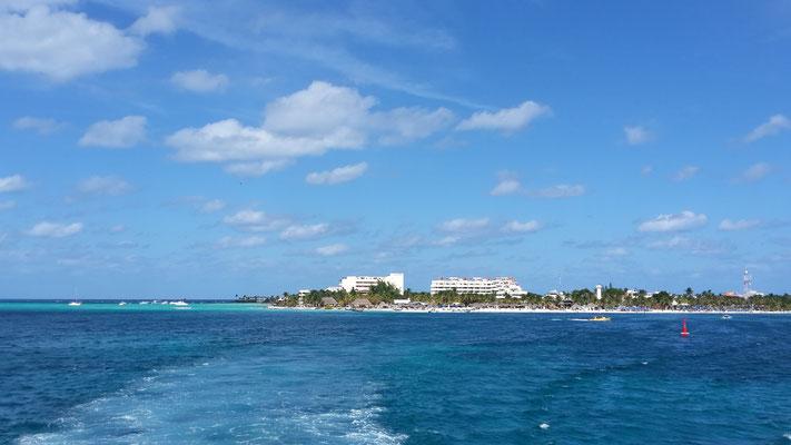 Ein letzter Blick auf die Insel