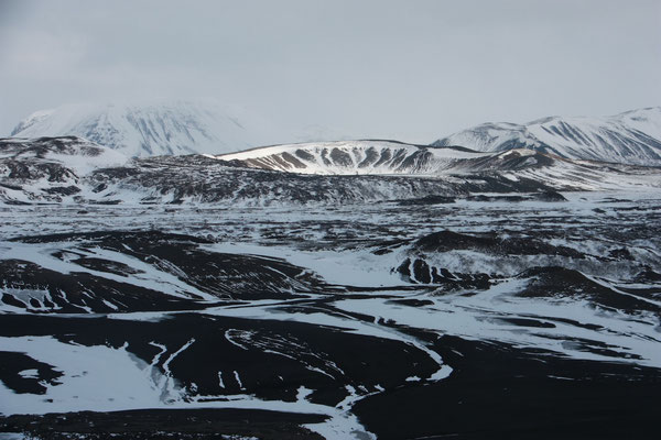 ein krater bei myvatn