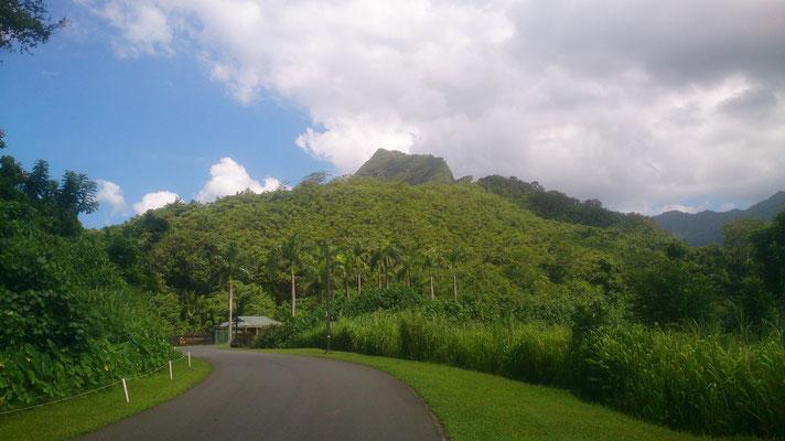 Sicht auf den ersten Gipfel