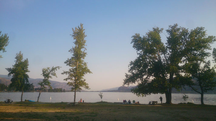Am See in Osoyoos