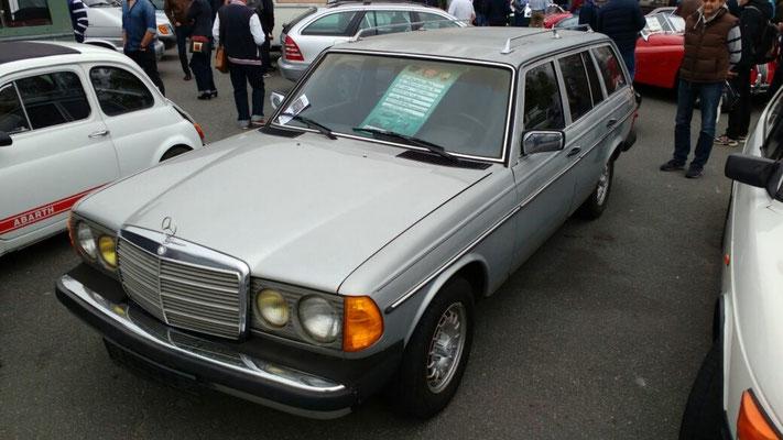 EINZIGER Mercedes Kombi auf der Leitmesse!