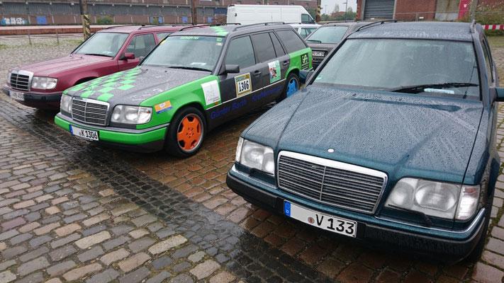 Bunt ging nicht nur beim Daimler. Der Beweis ist hier zu sehen!