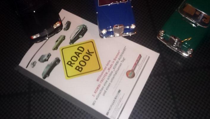 Das Roadbook für Veranstaltungsteilnehmer