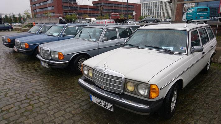 Export- Benz S 123.