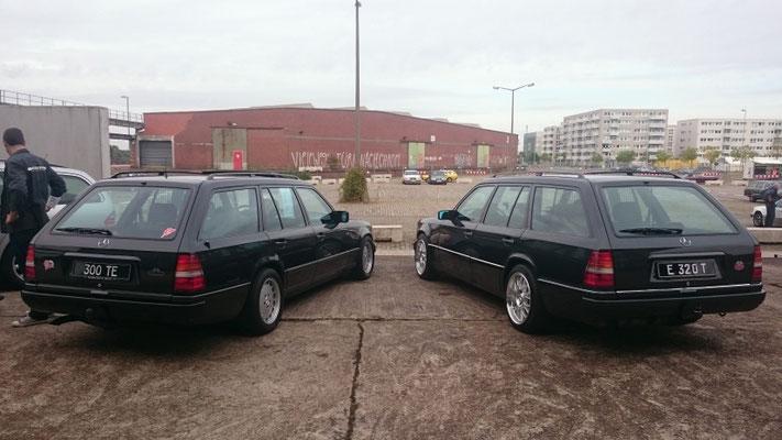 Frühes und spätes S 124 T Modell, 1985 und 1995