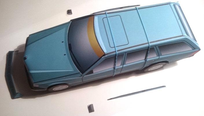 Auf 124 Stück limitiertes Modell eines S 124!