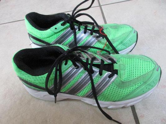 Freizeitschuhe Adidas Ortholite grün, Grösse 38, Preis Fr. 25.-- (Neupreis Fr. 90.--)
