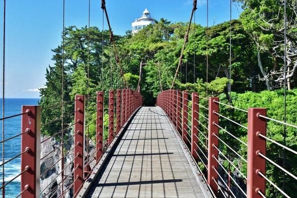 城ヶ崎海岸の吊り橋