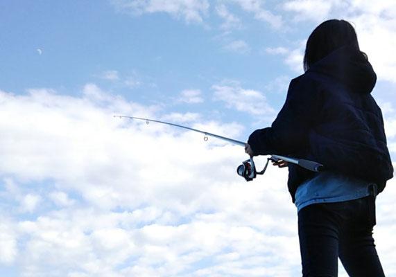 川奈の魚釣り