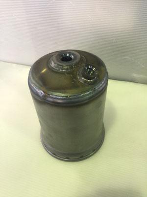 オイルフィルターケース(CO2自動溶接)