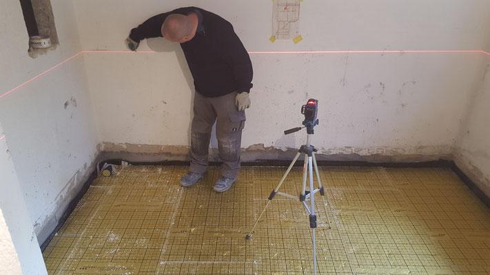 Höhe mit Laser bestimmen