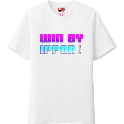 『WIN BY IPPON!』 道場コンセプトTシャツ
