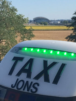 Taxi Jons Lumineux Vert