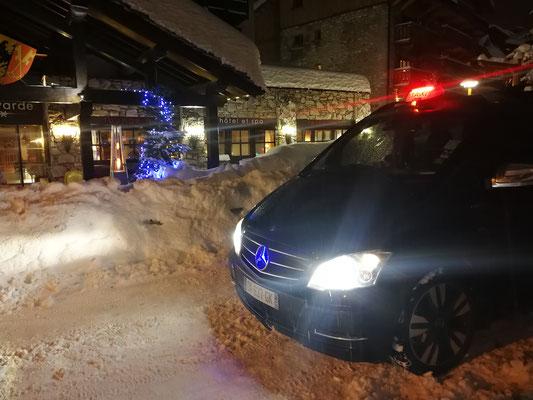 Taxi Lyon Val d'Isère