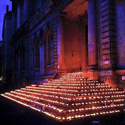 8 décembre lyonnais hommage aux victimes des terroristes