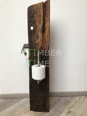 Klopapaierhalter Holz