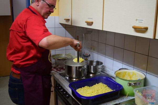 Chefkoch in Aktion