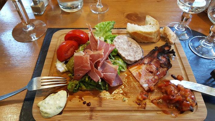 In Frankreich speist es sich vorzüglich :-)