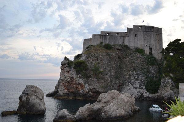 Altstadt Dubrovnik mit Festung