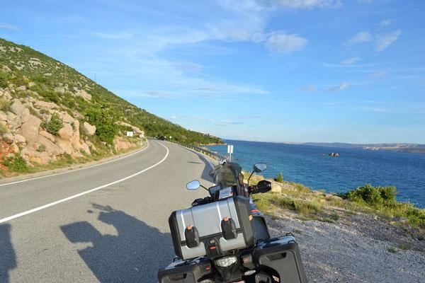 Küstenstraße Richtung Dubrovnik