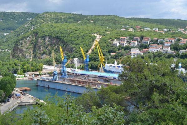 Bucht gleich nach Rijeka