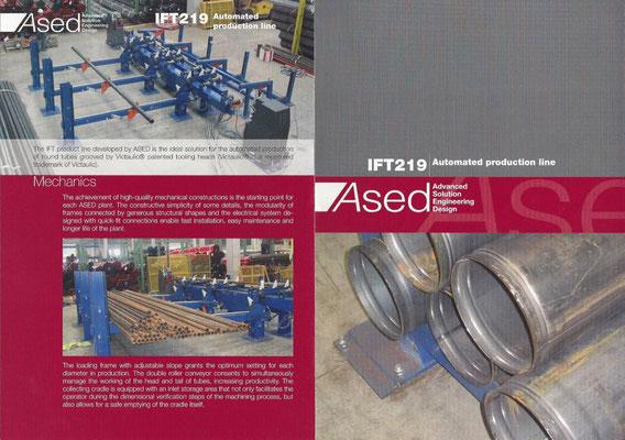 ASED Rohr-Pakettieranlagen + Installation