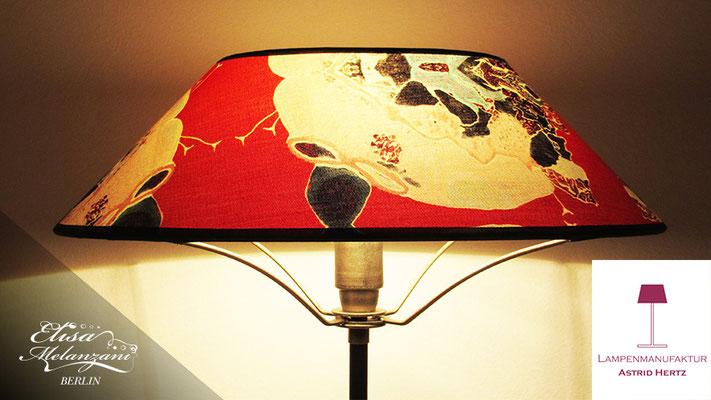 Design -china bug- Kollektion: TREASURY topaz - Lampenschirm Unikat © ELISA MELANZANI BERLIN