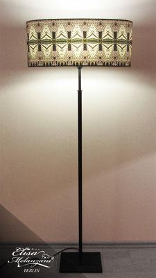 Design -dark galloon- Kollektion: TREASURY topaz - Stehlampe Unikat © ELISA MELANZANI BERLIN